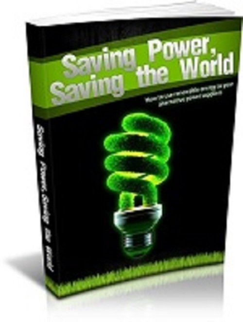 Product picture Saving Power, Saving The World